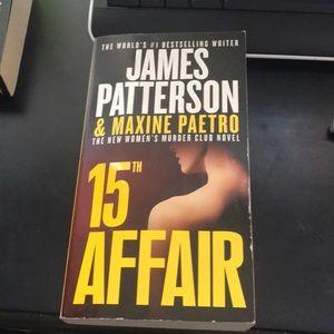 James Patterson 15th affair